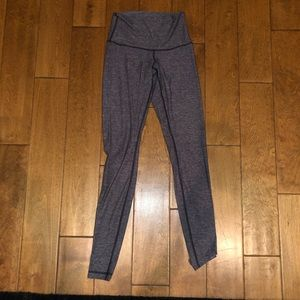 Lululemon purple long thin leggings